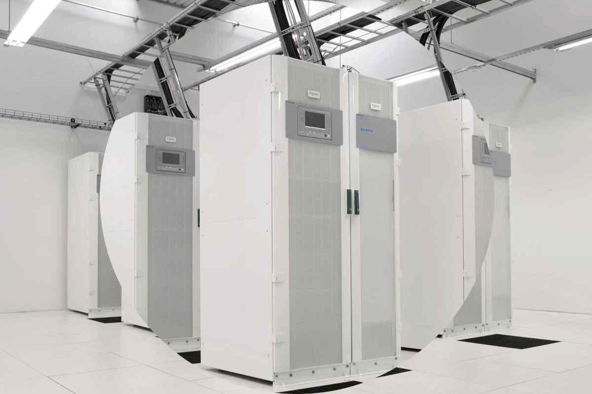 Bild på datacenter